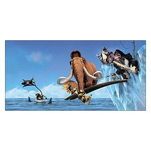 Ice Age. Размер: 120 х 60 см